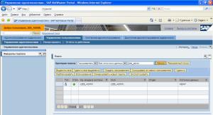 Настройка соответствия между учетными записями пользователей SAP Enterprise Portal и SAP MDM